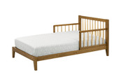 DAVINCI Highland Toddler Bed in Chestnut & Natural Finish