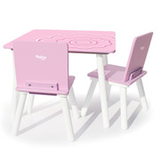 Pkolino Cool Table and Chairs - Flower Blossom