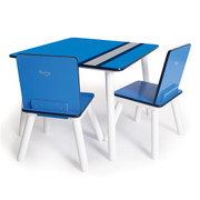 Pkolino Cool Table and Chairs - Racing Stripes