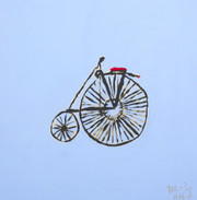 """MONOCYCLE""    by PETITE + POIS"