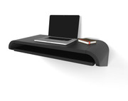 Orange22 Minimal Wall Desk in Black