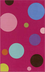 Dalyn Rug Company Childrens Rugs 4Ever Young FV2 - Fuchsia