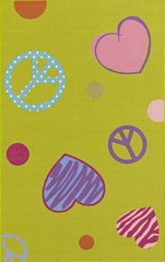 Dalyn Rug Company Childrens Rugs 4Ever Young FV3 - Lime