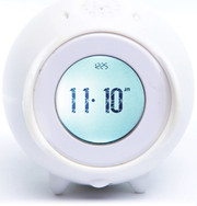 Nanda Home Tocky Analog Alarm Clock - White