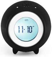 Nanda Home Tocky Analog Alarm Clock - Black