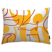 notNeutral Count Throw Pillow - Yellow