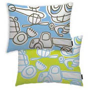 notNeutral Transport Throw Pillow