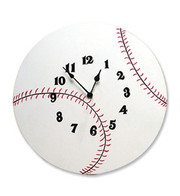 Trend Lab Baseball Clock