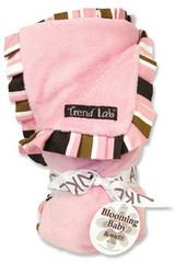 Trend Lab Maya Velour Ruffle Blanket