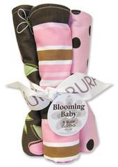Trend Lab Maya Burp Cloth Set