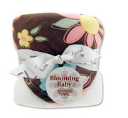 Trend Lab Blossoms Hooded Towel