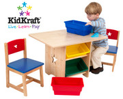 KidKraft Star Table and 2 Chair Set