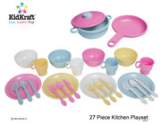 KidKraft 27 Piece Pastel Cookware Set