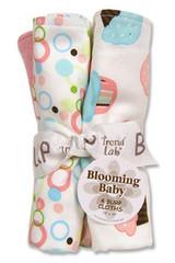 Trend Lab Cupcake Burp Cloth Set