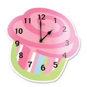 Trend Lab Cupcake Wall Clock