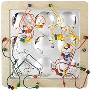 Anatex Mirror Panel Sculpture Maze Educational Toy
