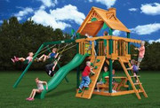 Gorilla Playsets Chateau II - Wood Roof