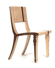 Context Furniture William & Mary Side Chair