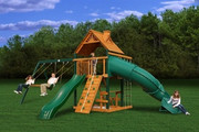 Gorilla Playsets Mountaineer - Wood Roof