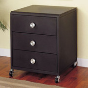 Powell Z-Bedroom Mobile 3-Drawer Chest