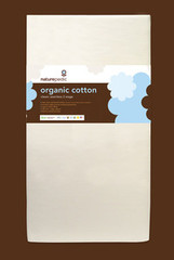Naturepedic No-Compromise Organic Cotton Lightweight Classic Seamless 2-Stage Crib Mattress