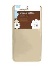 Naturepedic Organic Cotton 11 x 29 Bassinet Square Infant Mattress