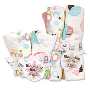 Trend Lab Cupcake Bib and Burp Set