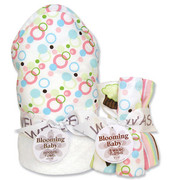 Trend Lab Cupcake Hooded Towel and Wash Cloth Set