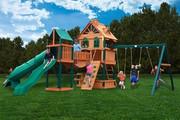 Gorilla Playsets Woodbridge - Wood Roof