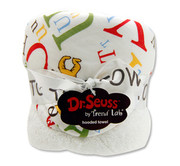 Trend Lab Dr. Seuss ABC Hooded Towel