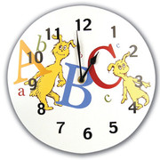 Trend Lab Dr. Seuss ABC Wall Clock