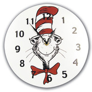 Trend Lab Dr. Seuss Cat in the Hat Wall Clock