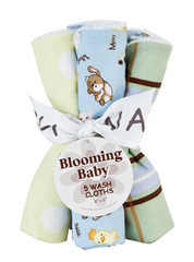 Trend Lab Baby Barnyard Wash Cloth Set
