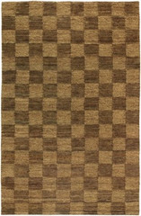 Chandra Rugs Art ART3580 Contemporary Natural Jute Rug