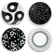 notNeutral In The Mix Small Plate - Set of 4