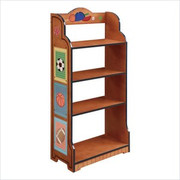 Teamson Design Kids Little Sports Fan Bookcase