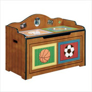 Teamson Design Kids Little Sports Fan Toy Chest