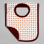 The Green Creation Reversible Bib - Sunshine