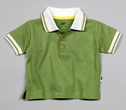 The Green Creation Green Olive Polo