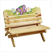 Teamson Design Kids Magic Garden Outdoor Bench
