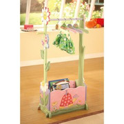 Teamson Design Kids Magic Garden 4 Hangers for Valet Rack