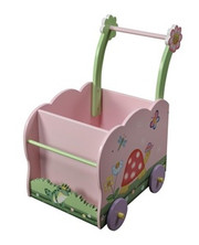 Teamson Design Kids Magic Garden Push Cart