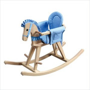 Teamson Design Kids Sunny Safari Natural Rocking Horse