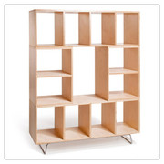 Offi and Co. BBox2 and BBox4 Stack and Storage Wall Unit