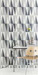 Ferm Living Spear - Grey Wall Smart Wallpaper