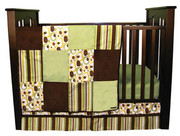 Trend Lab Giggles 3 Piece Crib Bedding Set