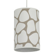 Oilo Cobblestone Cylinder Light - Taupe