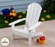 KidKraft Adirondack Chair in White