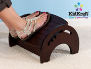 KidKraft Adjustable Stool for Nursing in Cherry