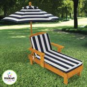 KidKraft Outdoor Chaise with Umbrella